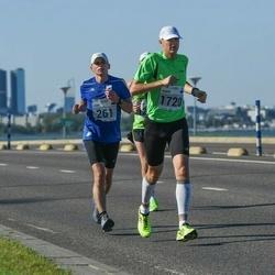 SEB Tallinna Maraton - Lauri Pihlak (261), Sander Lepik (1720)