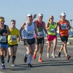 SEB Tallinna Maraton - Märt Tomp (367), Brit Rammul (371), Kristjan Niinemaa (413), Kaupo Kirikall (747), Elvis Seppar (1766), Erkki Etverk (1899)