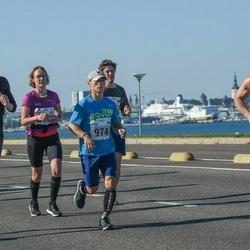 SEB Tallinna Maraton - Jorma Hovi (334), Artur Raudna (974), Raimo Talviste (2015)