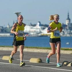 SEB Tallinna Maraton - Katrin Koor (779), Artur Rauhiainen (1939)