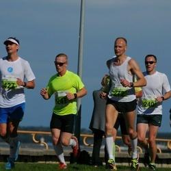 SEB Tallinna Maraton - Alar Ervin (241), Uldis Kalnins (272), Artur Praun (427)