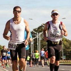 SEB Tallinna Maraton - Eddi Joost (1963), Aleksey Safonov (2203)