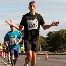 SEB Tallinna Maraton - Artur Raudna (974), Kristjan Vilipõld (1973)