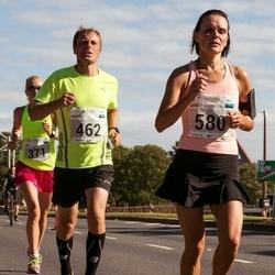 SEB Tallinna Maraton - Brit Rammul (371), Risto Viirg (462), Siiri Leskov (580)