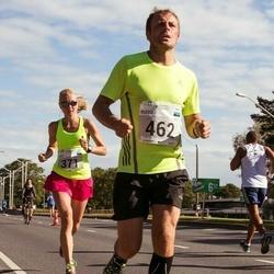SEB Tallinna Maraton - Brit Rammul (371), Risto Viirg (462)
