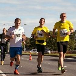 SEB Tallinna Maraton - Tauri Hainsoo (753), Arles Taal (1791), Kaupo Tiislär (1846)