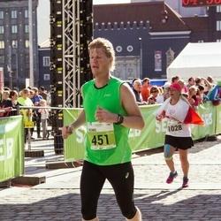 SEB Tallinna Maraton - Reimo Ehrstein (451), Anna Metrycka (1028)