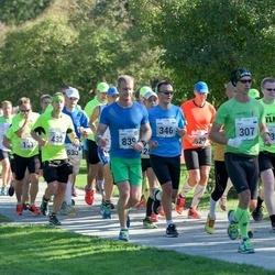 SEB Tallinna Maraton - Janek Oblikas (307), Armin Allmäe (346), Kaarel Kuusk (432), Oskars Martuzans (839)