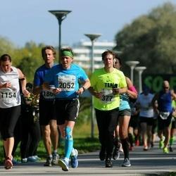 SEB Tallinna Maraton - Andres Lang (277), Kerryanne Sawyer (1154), Arto Kauhanen (2052)
