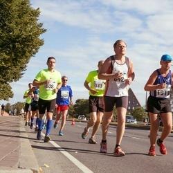 SEB Tallinn Marathon - Stenver Matt (608), Raul Kuuskmäe (842), Kaarel Tõruvere (1913)