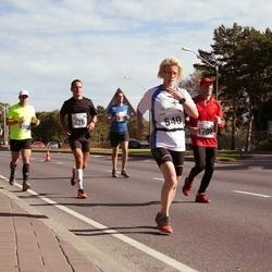 SEB Tallinna Maraton - Birgi Putkonen (540), Marko Rundu (676)