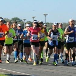 SEB Tallinna Maraton - Ivo Volt (424), Klarika Kuusk (434), Mattias Puusepp (472)