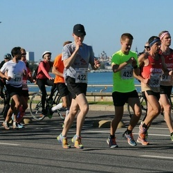 SEB Tallinna Maraton - Alexander Roeder (38), Johannes Pietilä (422), Matias Kotajärvi (425)