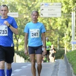 SEB Tallinna Maraton - Meelis Treimuth (247), Alvin Vann (1733)