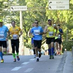 SEB Tallinna Maraton - Armin Allmäe (346), Mait Pärg (832), Janek Ollep (1658), Pirko Palu (1839)