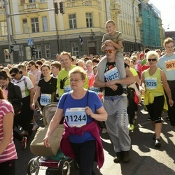 SEB Tallinna Maraton - Kristi Härm (10004), Astrid Parm (10225), Annika Raud (11244)
