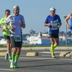 SEB Tallinna Maraton - Mikael Nygård (517), Agur Jõgi (756)
