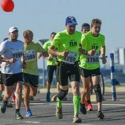 SEB Tallinna Maraton - Raivo Sammel (1759), Carl-Hans Sammel (1760), Marius Pihlak (2085), Kristian Schone (2199)
