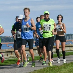 SEB Tallinna Maraton - Brent Pere (45), Ülo Suursaar (343), Birgitti Pilvet (1893), Tarmo Välba (1896)