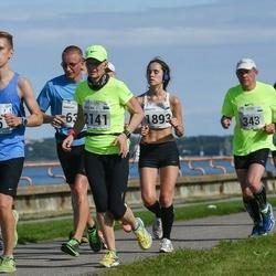 SEB Tallinna Maraton - Brent Pere (45), Ülo Suursaar (343), Birgitti Pilvet (1893), Tarmo Välba (1896), Anželika Mullaste (2141)