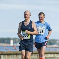 SEB Tallinna Maraton - Laur Saar (350), Ando Kangur (533)