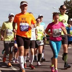 SEB Tallinna Maraton - Aleksandr Morjakov (21), Mihkel Kõrbe (1026), Marilyn Jurman (1265), Arro Kati (2114)