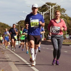 SEB Tallinn Marathon - Alar Lehesmets (468), Triin Voss (1260)