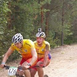 SEB 15. Tartu Rattamaraton - Kristjan Kivistik (176), Artur Makku (317)