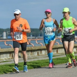 SEB Tallinna Maraton - Lasse Koivulehto (769), Ann-Christine Allik (1328), Raiko Heide (1843)