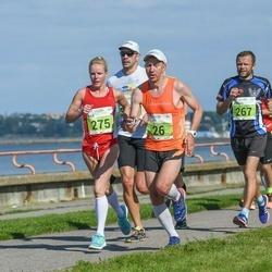 SEB Tallinna Maraton - Marko Valter (26), Andero Sopp (267), Maie Kuusik (275)