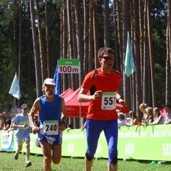 SEB 26. Tartu Jooksumaraton - Ülo Tuur (240), Ago Saluveer (557)