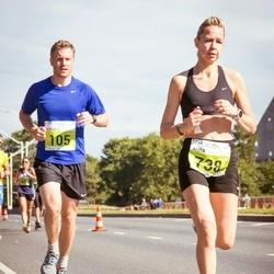 SEB Tallinna Maraton - Russell Gibson (105), Anda Valtere (738)