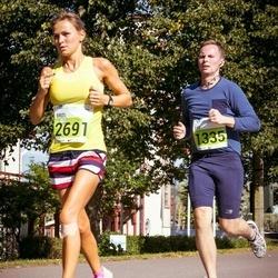 SEB Tallinna Maraton - Liis Sirvi (1335), Briti Klimberg (2691)