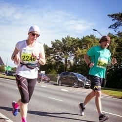 SEB Tallinna Maraton - Heljä Manninen (2246), Ari Nässi (2840)