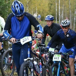 RMK Kõrvemaa Rattamaraton - Einar Pilvet (308), Tarmo Margat (331), Vello Ründva (442)