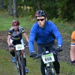 RMK Kõrvemaa Rattamaraton - Janne Jõgi (381), Andre Lomaka (658)