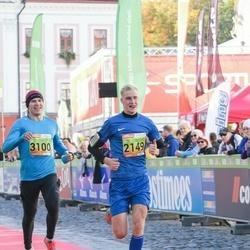 4. Tartu Linnamaraton - Erik Kesa (2149), Arkko Pakkas (3100)