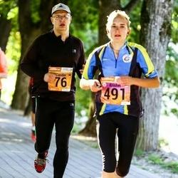 4. Tartu Linnamaraton - Sander Pihlak (76), Kristel Sibul (491)
