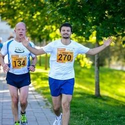 4. Tartu Linnamaraton - Pekka Ylä-Nikkilä (134), Artem Kobrin (270)