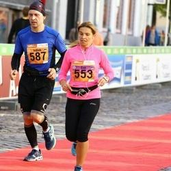 4. Tartu Linnamaraton - Eve Kitvel (553), Indrek Mägi (587)