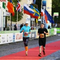 4. Tartu Linnamaraton - Toni Kuusisto (130), Helen Tinkus (500)