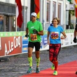 4. Tartu Linnamaraton - Juho Joonas (464), Inge Joonas (564)