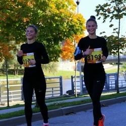 4. Tartu Linnamaraton - Sandra Lannes (3197), Sarah Lannes (3198)