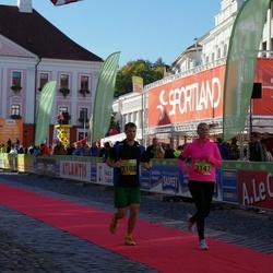 4. Tartu Linnamaraton - Tarvo Kuus (3102), Veronika Uibo (3147)