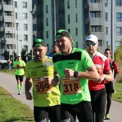 4. Tartu Linnamaraton - Kristjan Sahtel (318), Björn Puna (399)