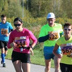 4. Tartu Linnamaraton - Dainis Kaulins (122), Kristi Kreitsberg (544), Monika Irves (562)