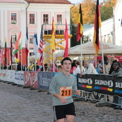 1. Tartu Linnamaraton / Sügisjooks - Christopher Raastad (211)