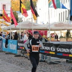 1. Tartu Linnamaraton / Sügisjooks - Aarne Seeba (435)