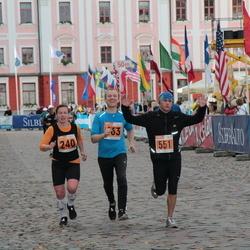 1. Tartu Linnamaraton / Sügisjooks - Pille Saluvere (240), Priit Melnik (463), Ergo Mõttus (551)