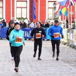 1. Tartu Linnamaraton / Sügisjooks - Ago Viner (311), Jaanus Uiga (323), Jane Pang (383)